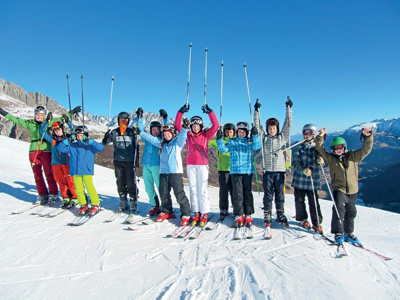 Vacanze invernali per giovani da 8 a 14 anni