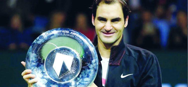 """Roger Federer è entrato nella leggenda vincendo 20 tornei del """"Grand Slam"""""""