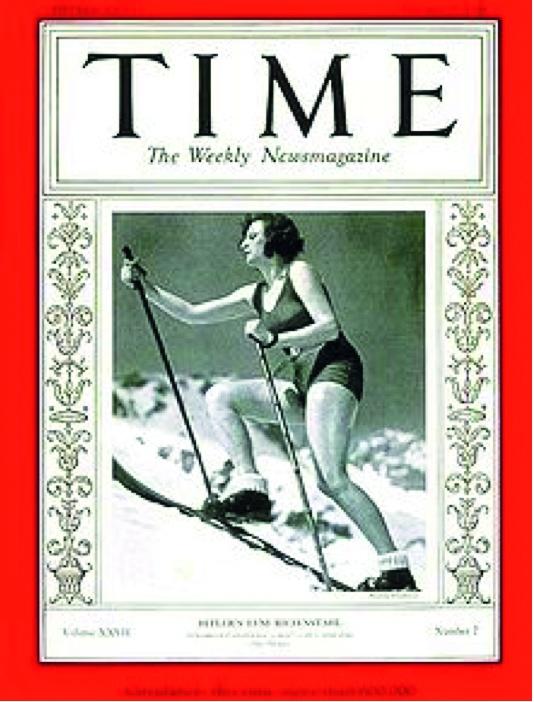 Copertina del Time dedicata alla regista.