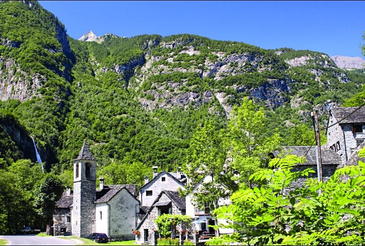 Foroglio: Il villaggio.