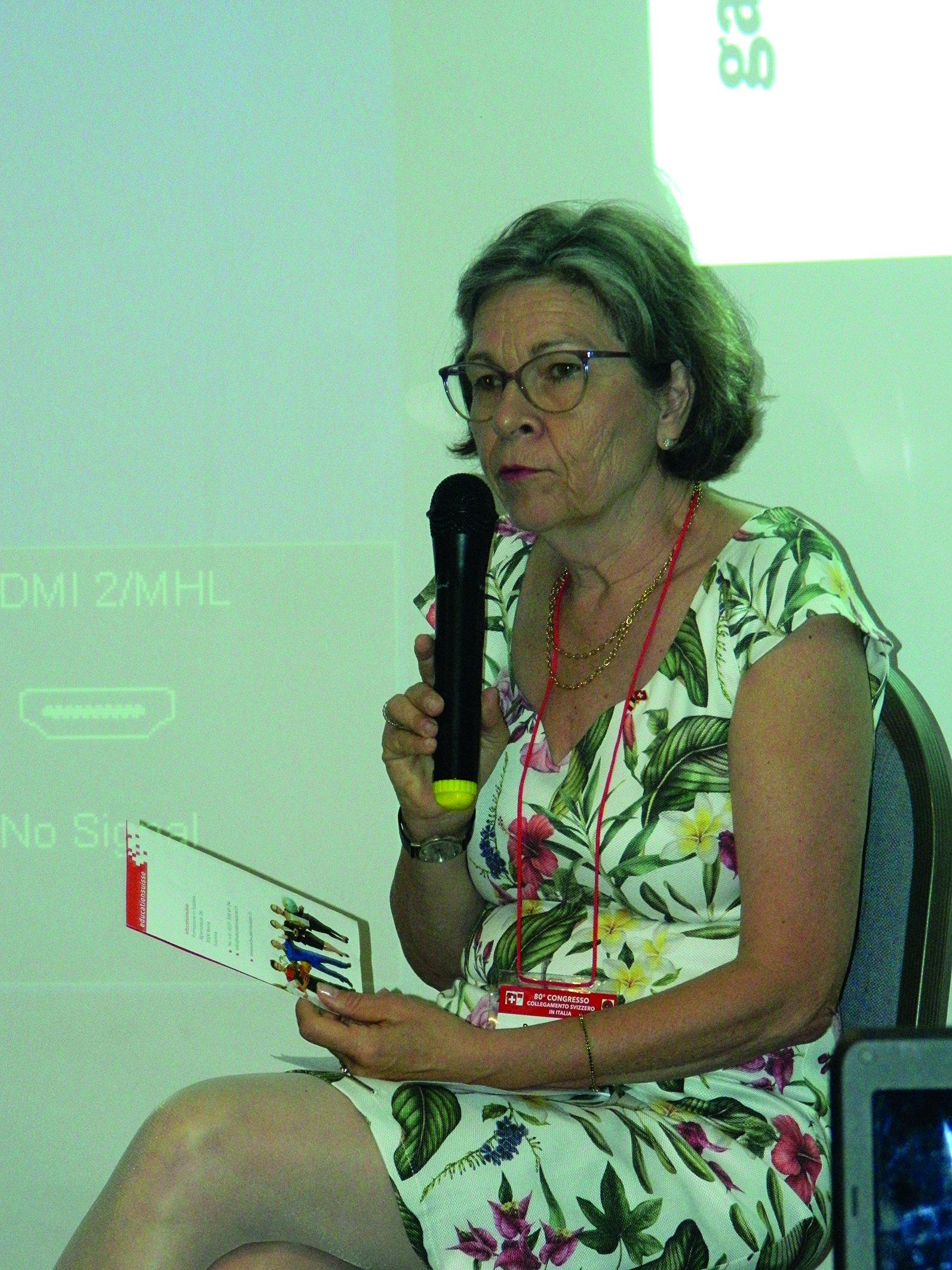 Ruth Von Gunten parla di educationsuisse