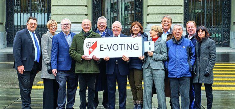 """Il voto elettronico garantisce il diritto di voto della """"Quinta Svizzera"""""""