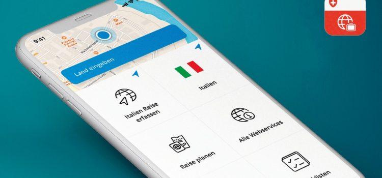 L'applicazione Travel Admin