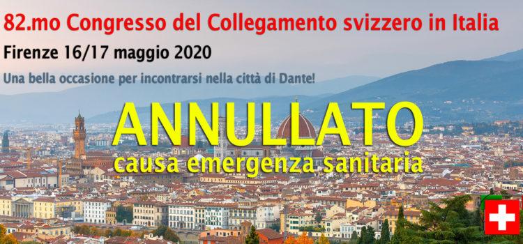 82.mo Congresso del Collegamento Svizzero in Italia