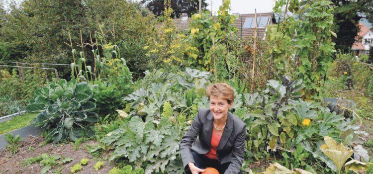 Simonetta Sommaruga e la sua passione per il giardino