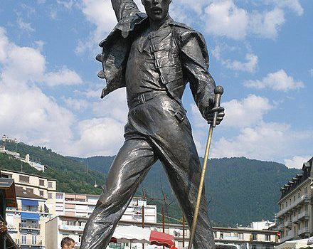 Montreux, a spasso con Freddie Mercury