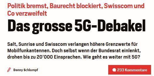 Anche la Svizzera è divisa sulla tecnologia 5G