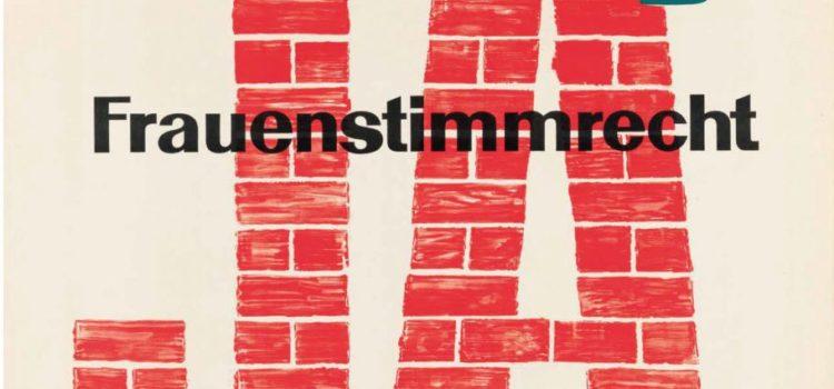 1971 – 2021: le svizzere festeggiano mezzo secolo di diritti politici