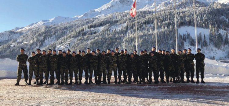 Uno Svizzero all'estero nell'armée Suisse