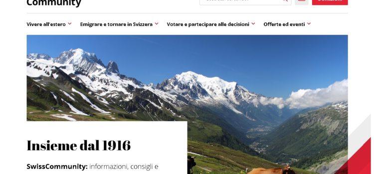 Nuovo sito Internet per l'OSE, il Servizio dei giovani e la «Revue Suisse»