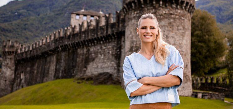 In viaggio con Michelle Hunziker nella Svizzera dal cuore green
